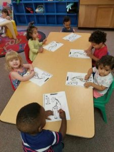 Toddler Daycare Activity in Briar Forest 77079